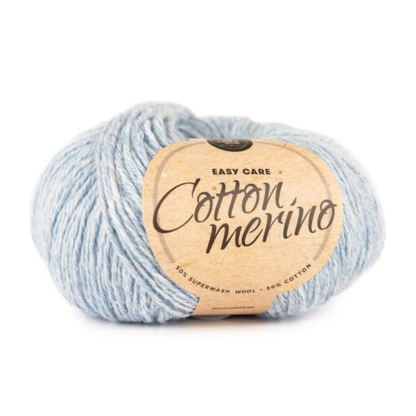 Mayflower Cotton Merino Blå