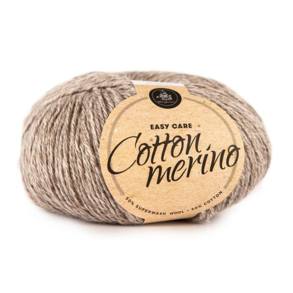 Cotton Merino Brun