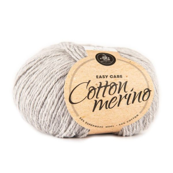 Mayflower Cotton Merino Lys Grå