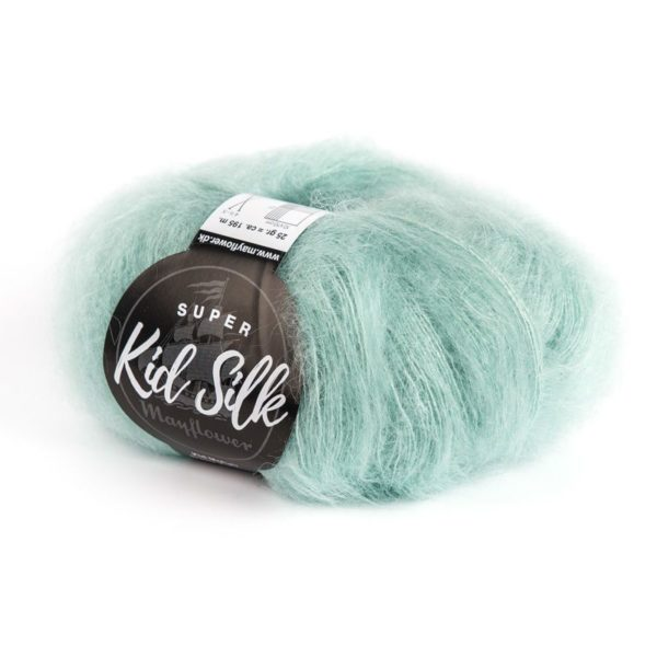 Super Kid Silk Lys Aquamarine