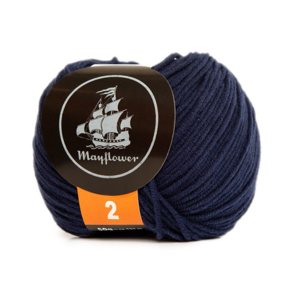 Mayflower Cotton 2 Admiralblå