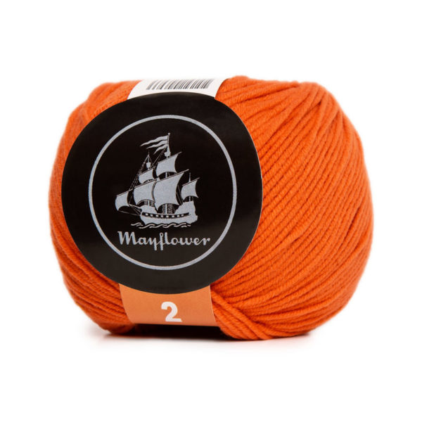 Mayflower Cotton 2 Flammeorange