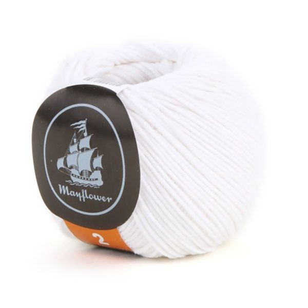 Mayflower Cotton 2 Hvid