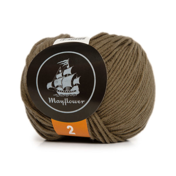 Mayflower Cotton 2 Lys Oliven