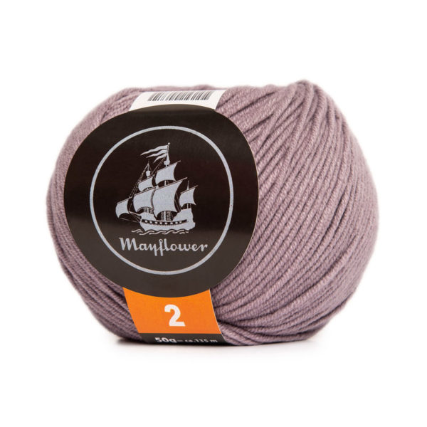 Mayflower Cotton 2 Lys Lavendel