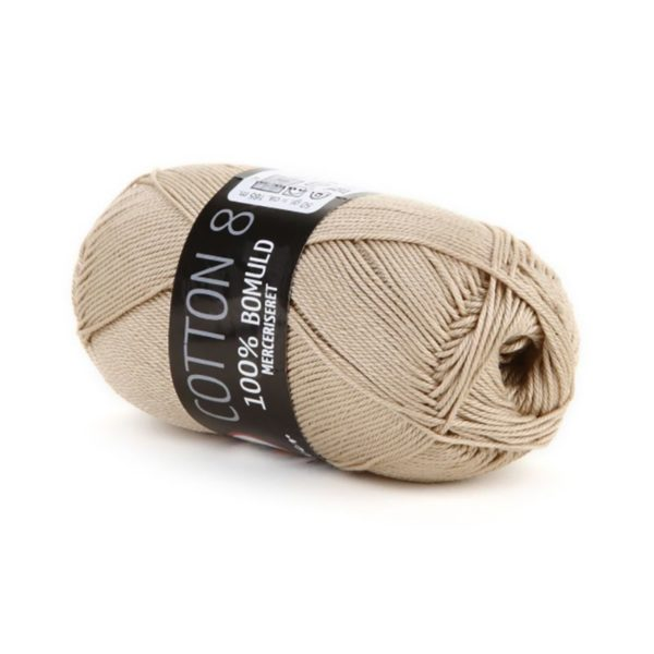 Mayflower Cotton 8/4 Merc. Beige