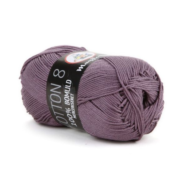 Mayflower Cotton 8/4 Merc. Lavendel