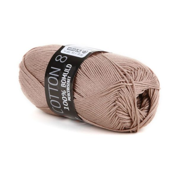 Mayflower Cotton 8/4 Merc. Lys Brun