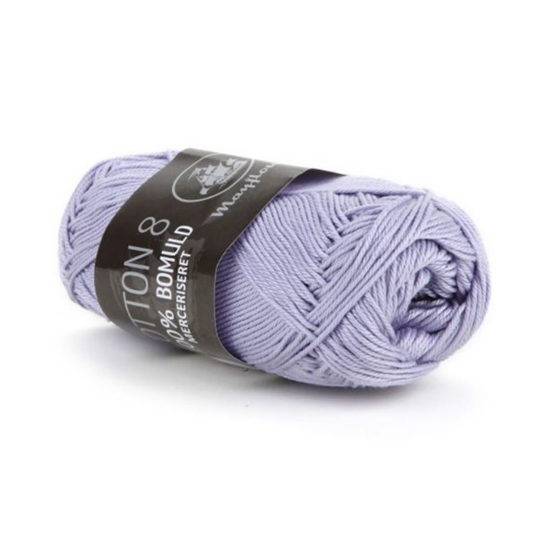 Mayflower Cotton 8/4 Merc. Lys Lavendel
