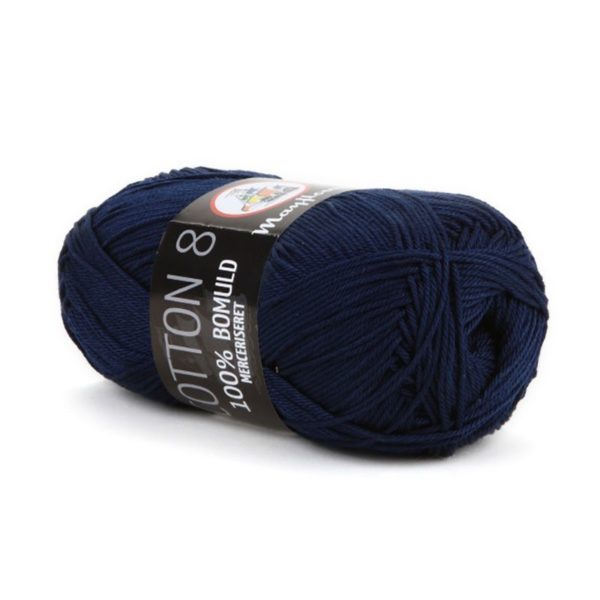 Mayflower Cotton 8/4 Merc. Marineblå