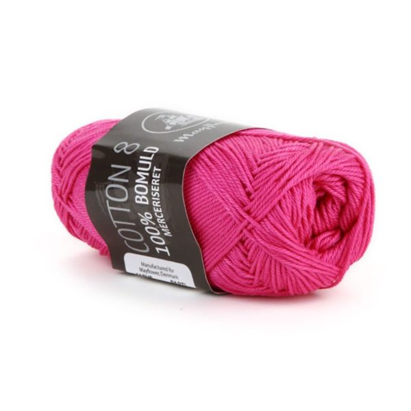 Mayflower Cotton 8/4 Merc. Pink