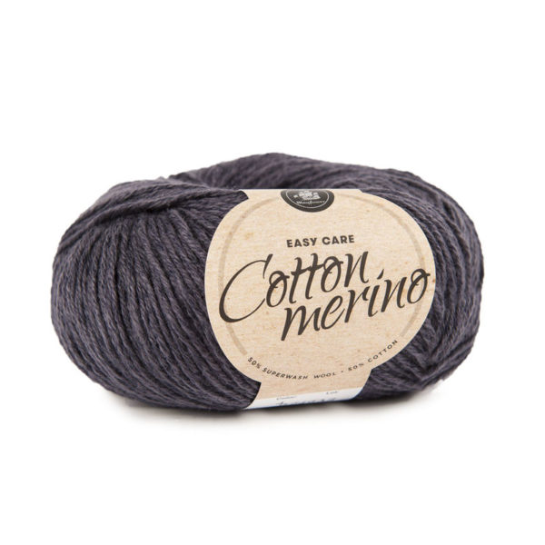 Mayflower Cotton Merino Solid Koksgrå
