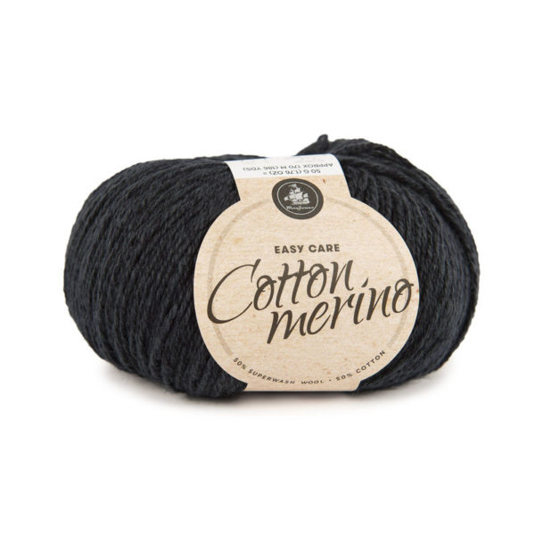Mayflower Cotton Merino Solid Mørk Marineblå