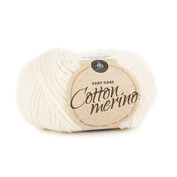 Mayflower Cotton Merino Solid Natur
