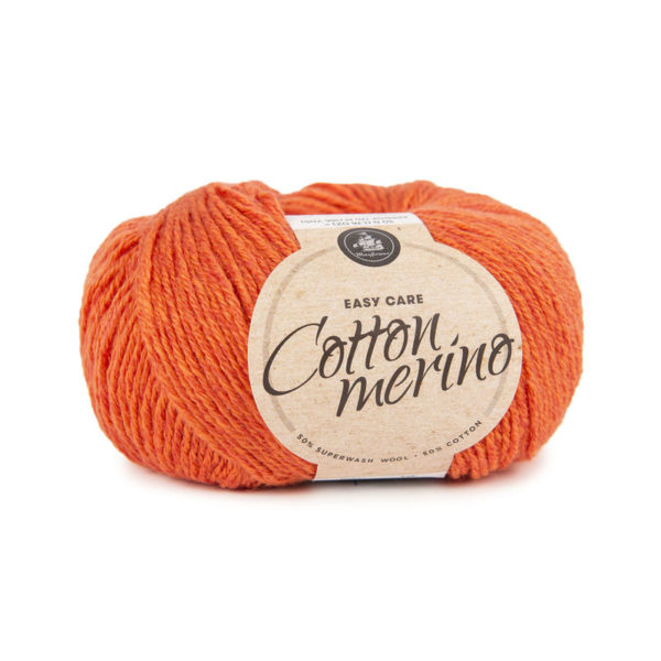 Mayflower Cotton Merino Solid Orange