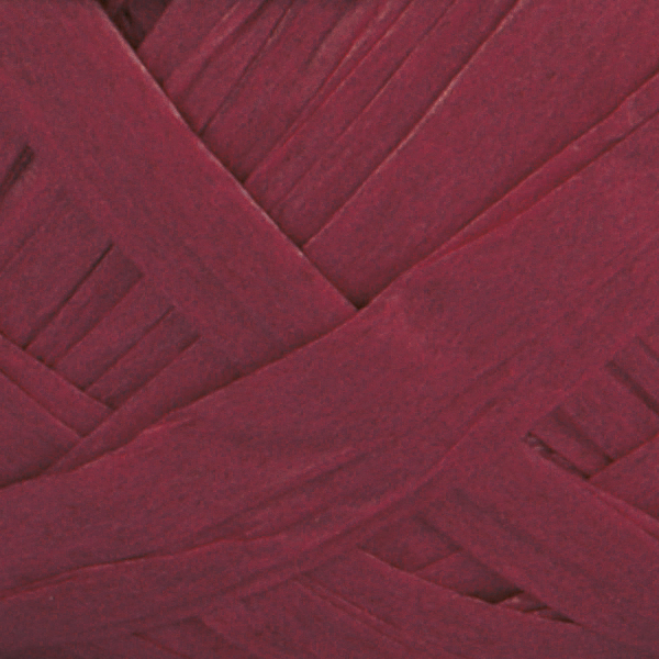 Natural Club Raffia – Maroon